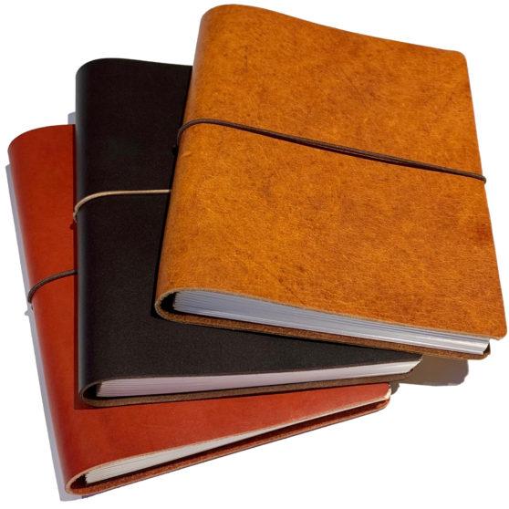 Cuadernos de piel